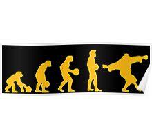 The Big Lebowski evolution yellow Poster