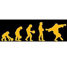 The Big Lebowski evolution yellow Photographic Print