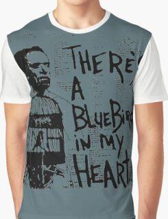 Bukowski Quote Graphic T-Shirt