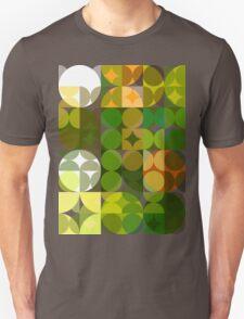 Cactus Garden Abstract Circles 3 T-Shirt