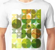 Cactus Garden Abstract Circles 3 Unisex T-Shirt
