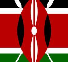 KENYA, Flag of Kenya, Swahili, Bendera ya Kenya, African Flags, Africa Sticker