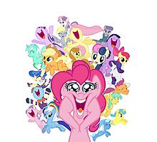 Everypony Photographic Print