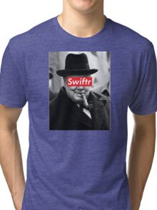 swiftr churchill Tri-blend T-Shirt