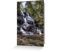 Lower Somersby  Fall - Revisted Greeting Card