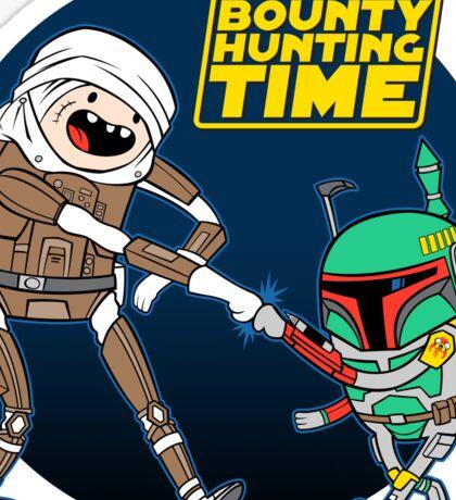 Bounty Hunting Time Sticker