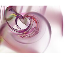 Heart Fractal Photographic Print