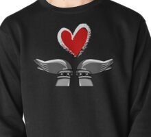 Hands with heart. Pullover