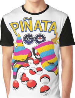 Pinata GO: Pokemon Mexican Style Graphic T-Shirt