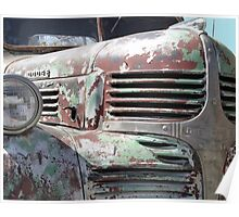 Antique Truck 2 Poster