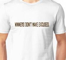 Winners Suits TV Series Inspirational Quote Harvey Specter Gold Unisex T-Shirt