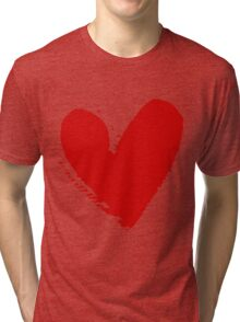 With love. Tri-blend T-Shirt