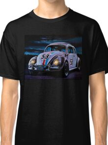 Herbie The Love Bug Painting Classic T-Shirt