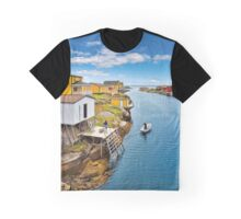 Town by the sea Graphic T-Shirt