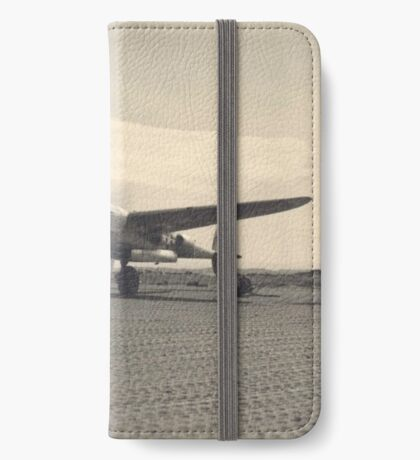 aircraft (p-38 lightning) WWII iPhone Wallet/Case/Skin