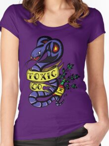 Toxic Pokemon Women's Fitted Scoop T-Shirt