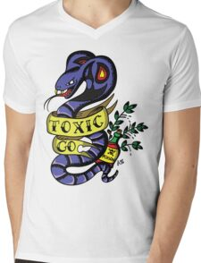 Toxic Pokemon Mens V-Neck T-Shirt