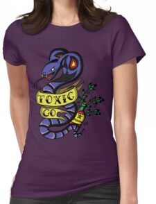 Toxic Pokemon Womens Fitted T-Shirt