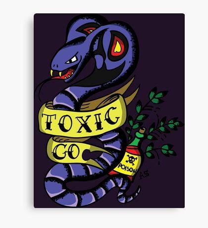 Toxic Pokemon Canvas Print