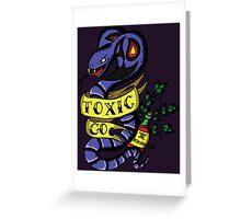 Toxic Pokemon Greeting Card