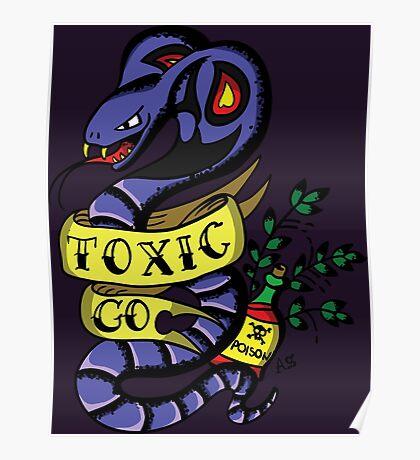 Toxic Pokemon Poster