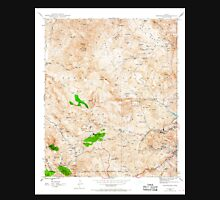 USGS TOPO Map Arizona AZ Inspiration 311889 1945 24000 Unisex T-Shirt