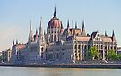 Hungarian Parliament Building by Graeme  Hyde