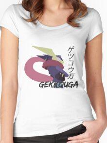 Japanese Greninja! Women's Fitted Scoop T-Shirt