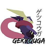 Japanese Greninja! Photographic Print