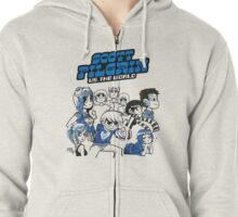 Scott Pilgrim Vs The World Zipped Hoodie