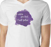 Gilmore Girls - Where You Lead Mens V-Neck T-Shirt