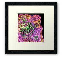Ganja Guardians #1:Bubba {Trippy} Framed Print