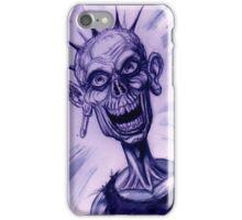 ZOMBIE PUNK iPhone Case/Skin