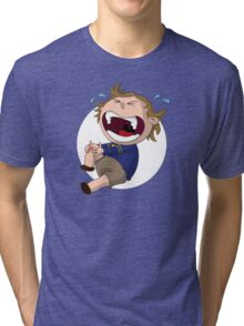 Skinned Knee of Hurtyness Tri-blend T-Shirt