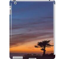 Cypress tree at sunset- Santa Cruz iPad Case/Skin