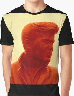 Billy Fury Statue. Graphic T-Shirt