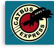 Nekobasu Express Canvas Print