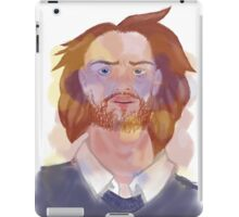 """I can hear them"" iPad Case/Skin"