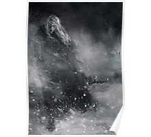 Finrod crossing the Helcaraxe Poster