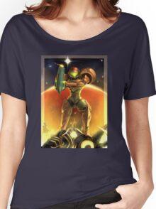 Metroid 30th Anniversary - Samus Aran Women's Relaxed Fit T-Shirt