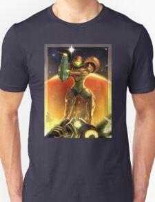 Metroid 30th Anniversary - Samus Aran Unisex T-Shirt