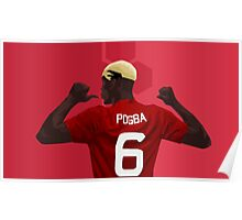Paul Pogba - Manchester United Poster