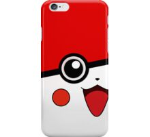 Red White Sneak Peak Monster Ball iPhone Case/Skin