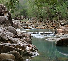 Stony Creek, Byfield - Central Queensland, Australia.  by Margaret Stanton