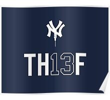 TH13F - Red Sox Nation Salutes A-Rod Poster