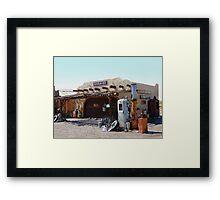 Assorted Junk Framed Print