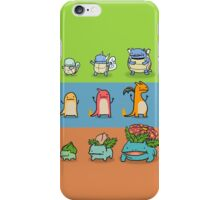 The Starter Trio Monster iPhone Case/Skin