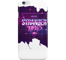 Stranger Things Sci Fi 80s Design iPhone Case/Skin