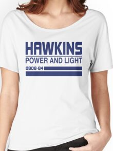 Hawkins Power and Light Women's Relaxed Fit T-Shirt