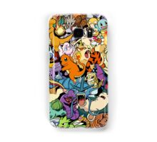 First Generation Monster Doodle Samsung Galaxy Case/Skin
